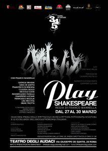 Locandina Play Shakespeare